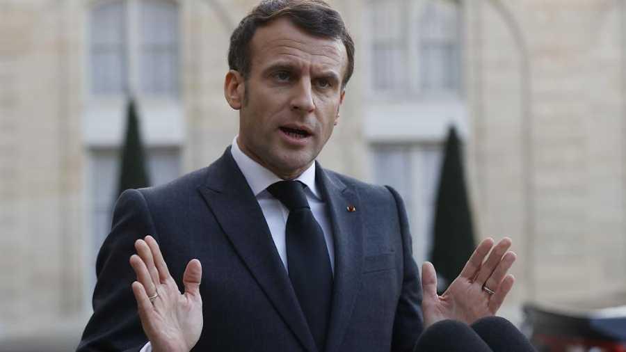 """Macron relativiza la bofetada recibida y asegura que es un """"acto aislado"""""""