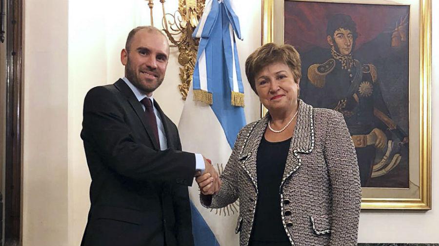 Martín Guzmán se reúne con Kristalina Georgieva en busca de un acuerdo