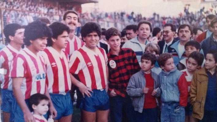 El día que Maradona no jugó con la 10