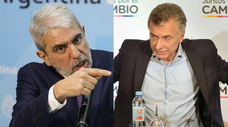 Aníbal Fernández insultó a Macri y negó amenazar a Nik