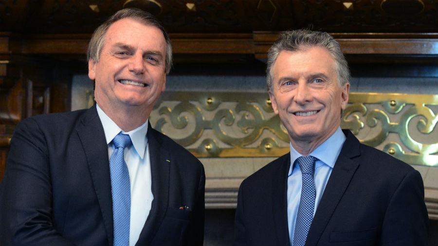 Macri le pidió disculpas a Bolsonaro en nombre del pueblo argentino