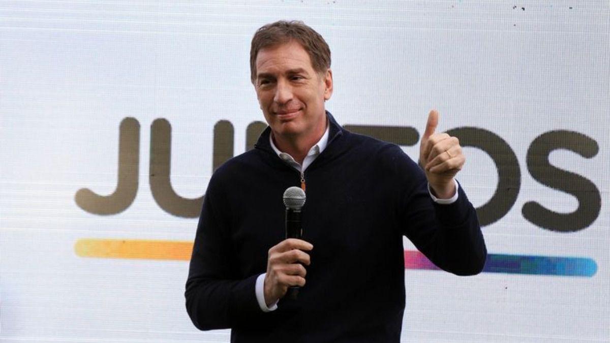 """Diego Santilli: """"La gente votó Juntos, con sus diferentes miradas, pero Juntos"""""""