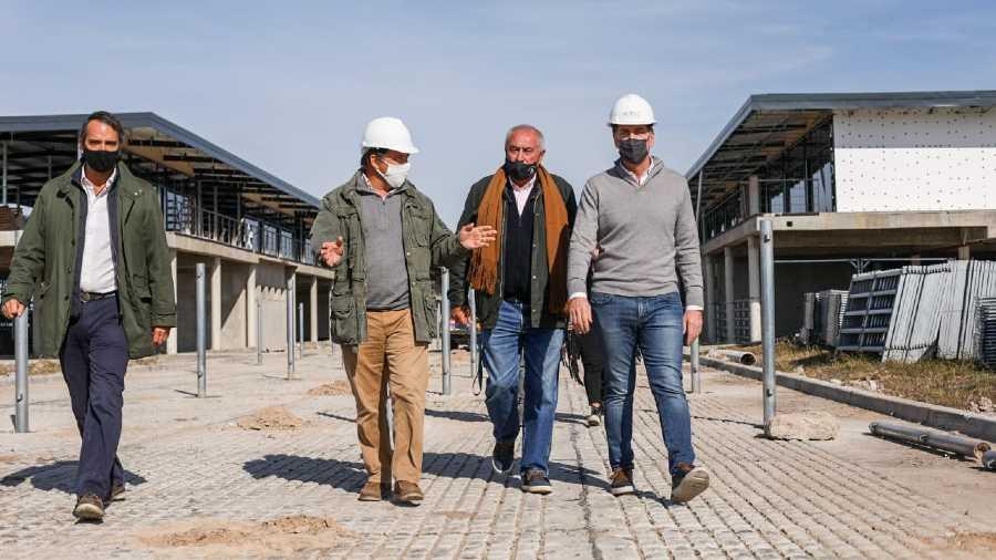 """Santilli: """"La mudanza del Mercado de Liniers a Cañuelas representa trabajo y oportunidades para la gente"""""""
