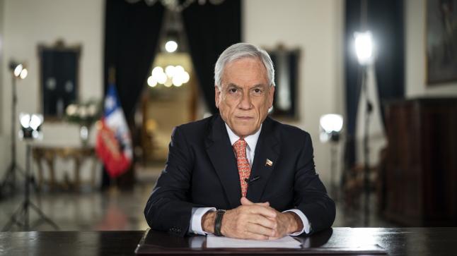 Piñera pide al Congreso otra prórroga del estado de catástrofe por pandemia